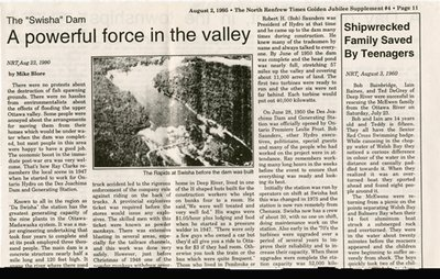 """The """"Swisha"""" Dam: A Powerful Force in the Valley"""