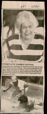 Stonecliffe Summer Festival