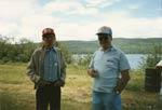 Boudreau and Allison: Seniors Picnic c.1985 Old Mackey's Park