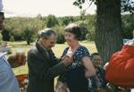 Ferdie and Jean Boudreau: Seniors Picnic Old Mackey's Park c.1985