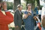 Ferdie and Jean Boudreau, Seniors Picnic c.1985