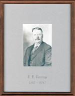 J.E. Jennings, Reeve, Head, Clara and Maria Township c. 1917-1924
