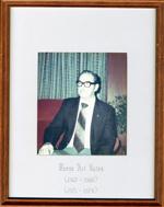 Art Yates, Reeve, Head, Clara and Maria Township c. 1965-1968, 1971-1974