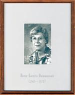 Loretta Boissonneault, Reeve, Head, Clara and Maria Township c. 1969-1970