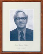 Percy Watts, Reeve, Head, Clara and Maria Township c. 1981-1985