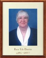 Lita Therrien, Reeve, Head, Clara and Maria Township c. 1992-1997