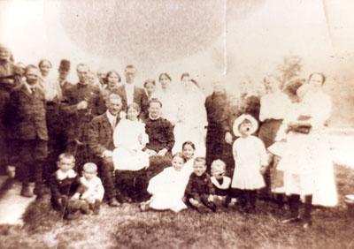 Mr. and Mrs. Joe Durand's Wedding, May 23. 1915