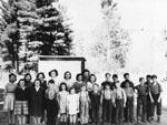 Stonecliffe School Children c.1946-1947