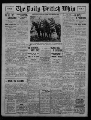 Daily British Whig (1850), 23 Mar 1917