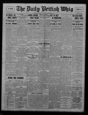 Daily British Whig (1850), 27 Mar 1917
