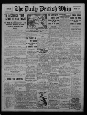 Daily British Whig (1850), 2 Apr 1917