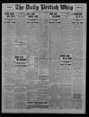 Daily British Whig (1850), 7 Apr 1917