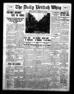 Daily British Whig (1850), 11 Apr 1917
