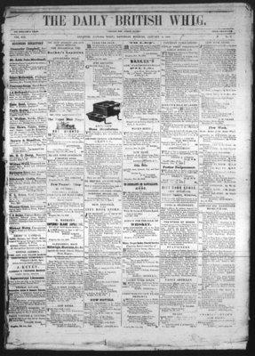 Daily British Whig (1850), 5 Jan 1850
