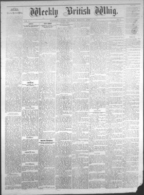 Weekly British Whig (1859), 28 Apr 1881