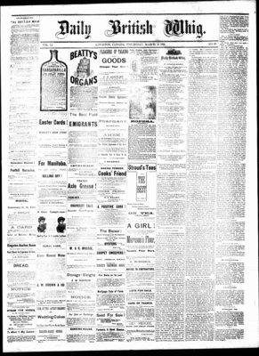 Daily British Whig (1850), 23 Mar 1882