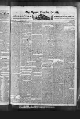 Upper Canada Herald (Kingston1819), 11 Feb 1840