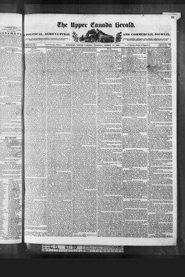 Upper Canada Herald (Kingston1819), 17 Mar 1840