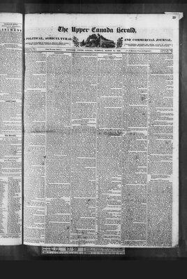 Upper Canada Herald (Kingston1819), 24 Mar 1840