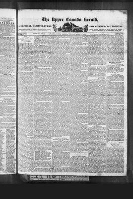 Upper Canada Herald (Kingston1819), 7 Apr 1840