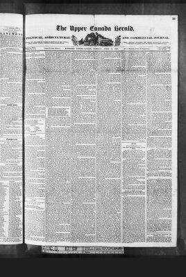 Upper Canada Herald (Kingston1819), 21 Apr 1840