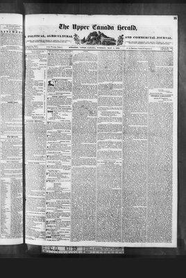 Upper Canada Herald (Kingston1819), 5 May 1840