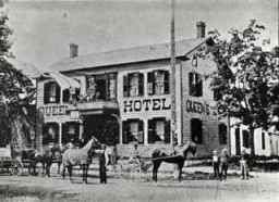 Queen's hotel, Oakville, c 1880.