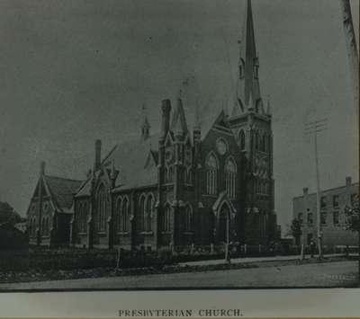 Knox Presbyterian Church, Oakville: circa 1888