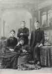 James Nisbet's children: Mary Jane, Isabella Catharine, Robert and Thomas.