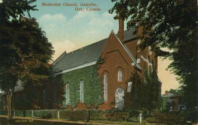 Methodist Church, Oakville, Ont., Canada.