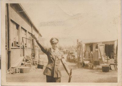 Richard Senecal in WWII