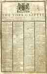York Gazette Newspaper- October 17, 1812