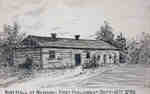 Navy Hall at Newark- First Parliament Sept 17th 1792- Mary Shaw