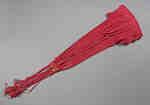 Military Red Silk Sash