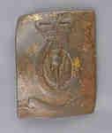 1st (Royal Scots) Regiment Cross Belt Plate c.1812