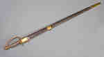 Infantry Sword and Leather Scabbard