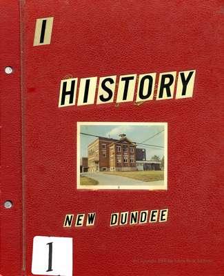 New Dundee Tweedsmuir History Book I