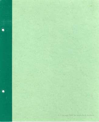 New Hamburg Tweedsmuir History Book D