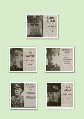 Five Soldiers Photographs