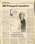 Bill Winegard Remembers