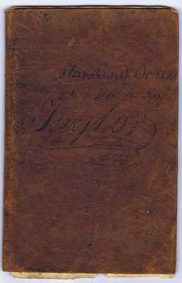 Standing Orders for the 2nd York Regiment- 1813