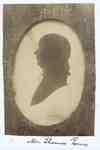 Silhouette of Mr. Thomas Powis