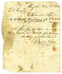 Bill of Account from Richardson & Lyons to Lt. Leonard- 1814