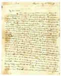Letter to Elizabeth Leonard in St. John, New Brunswick from Frances Leonard- 1814