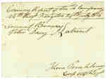 Evening Report of the 10th Company, 104th Regiment, Kingston- July 24, 1814