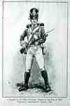 Print of a Soldier of the 100th Regiment in the War of 1812- 1929