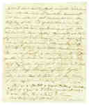 Letter from Mrs. Elizabeth Campbell to Her Son Discussing her Husband Fort Major Donald Campbell- 1813