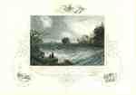 Rapids and Bridge above the Falls of Niagara