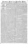 Providence Patriot and Columbian Phenix Newspaper- April 27, 1816