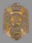 British Stove Pipe Shako Plate